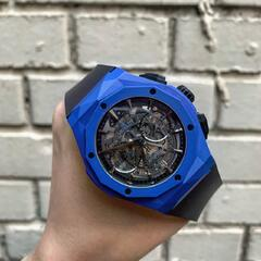 Реставрация часов  часов  Hublot Big Bang Unico Blue Magic.